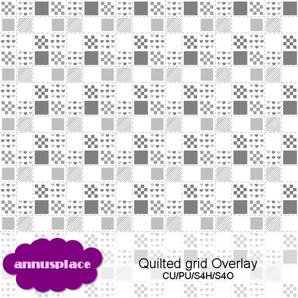 Preview of Quilted Grid Overlay