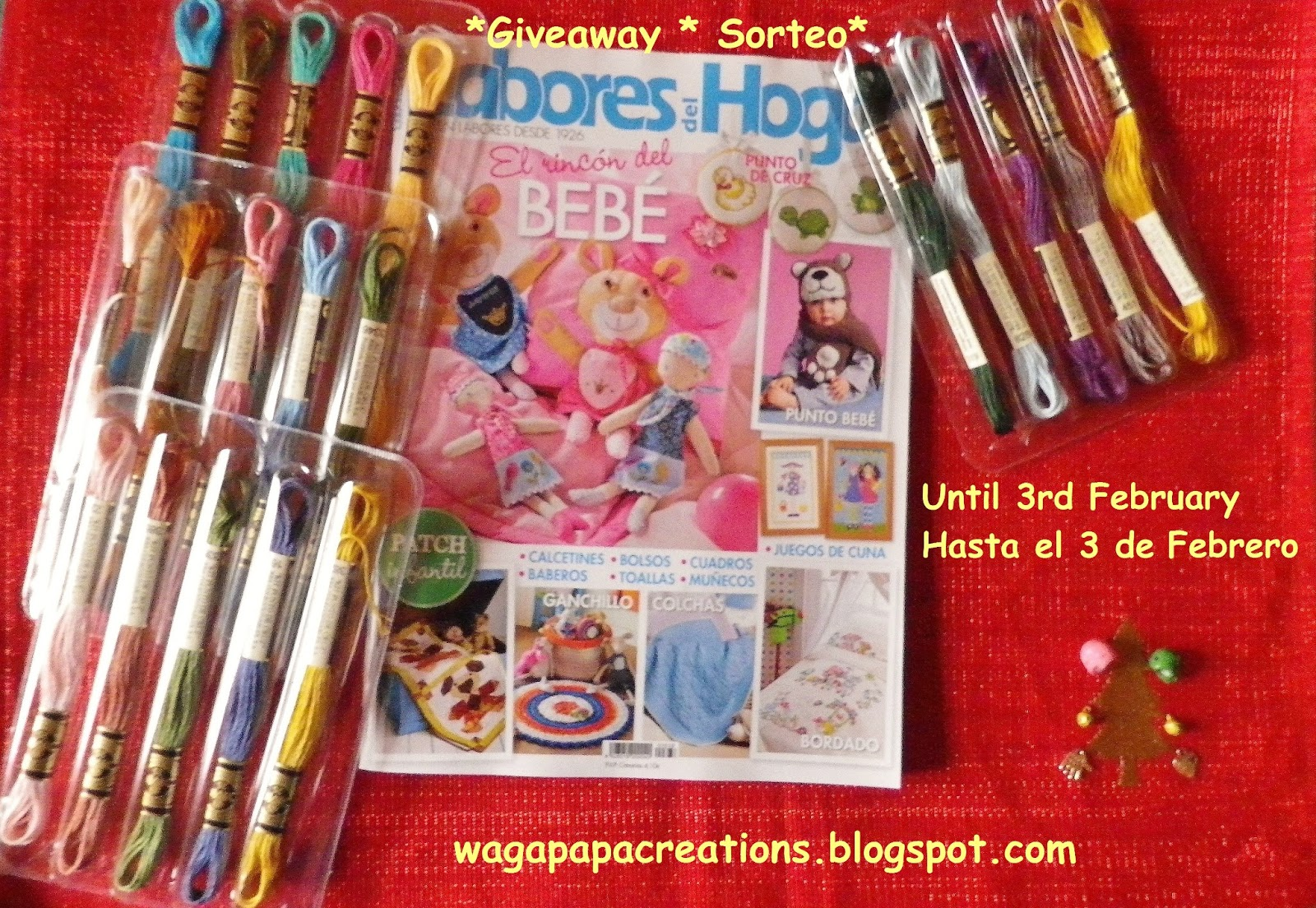 SORTEO EN WAGAPAPA CREATIONS