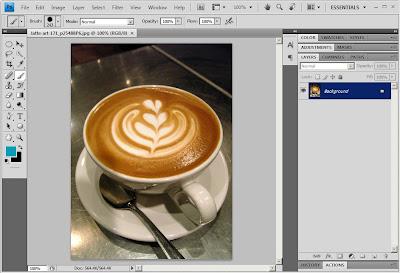 Photoshop QTuts+ : Membuat Coffee Latte dengan Liquify
