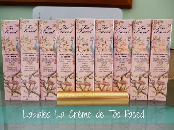 Labiales La Crème de Too Faced