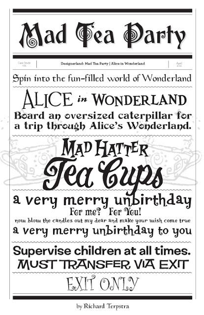 DesignerLand: Mad Tea Party | Alice in Wonderland