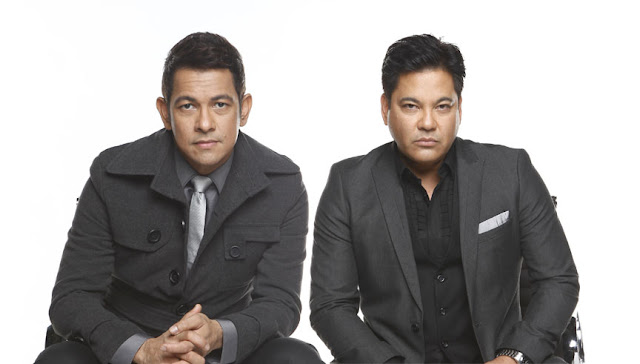 Gary Valenciano and Martin Nievera The X Factor Philippines Judges