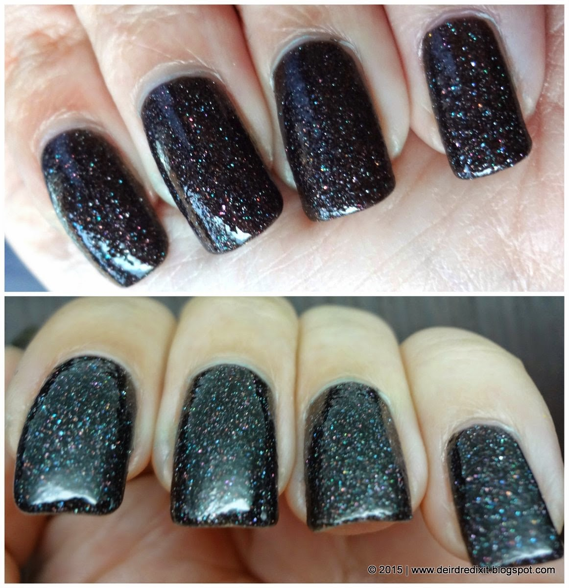 Kiko Real Glare nr. 06 in Exciting Dark Brown with Top Coat