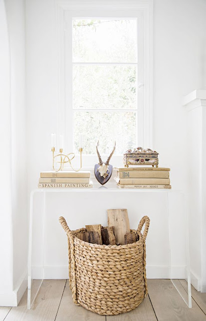 bright inviting entryway