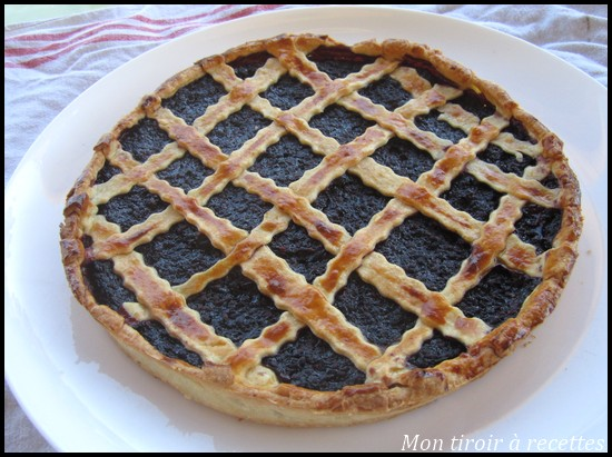 mon tiroir recettes blog de cuisine tarte aux m res. Black Bedroom Furniture Sets. Home Design Ideas