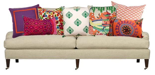 Floor throw pillows | Floor pillows for kids | Decorative suzani ...