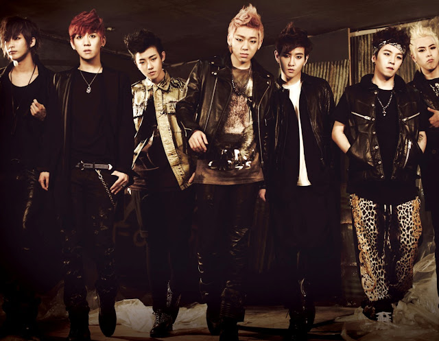 Block B Blocktober official album pic
