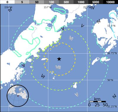 SISMO 6.8 GRADOS SACUDE ALASKA 29 de Mayo 2015