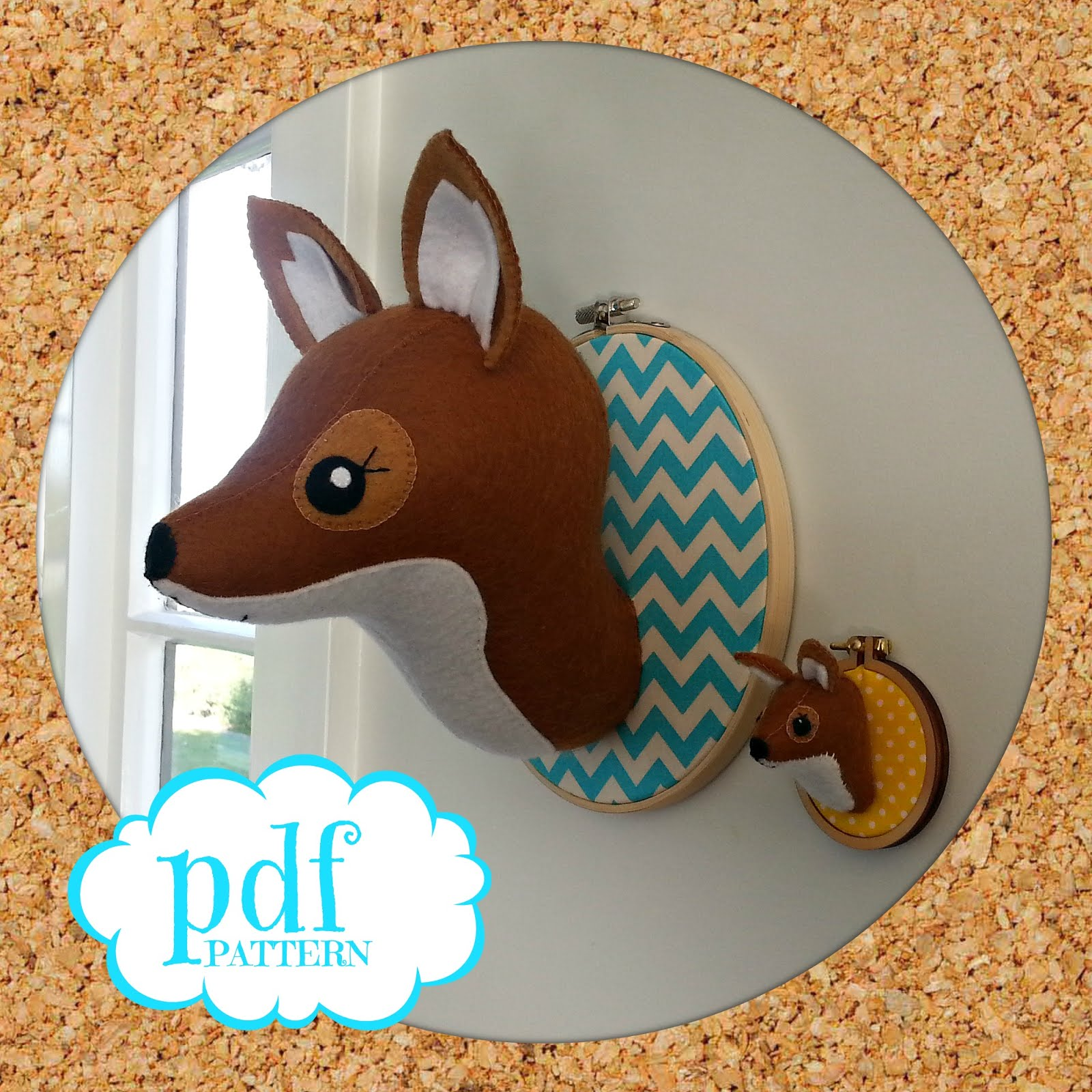 Get your fox pattern HERE!