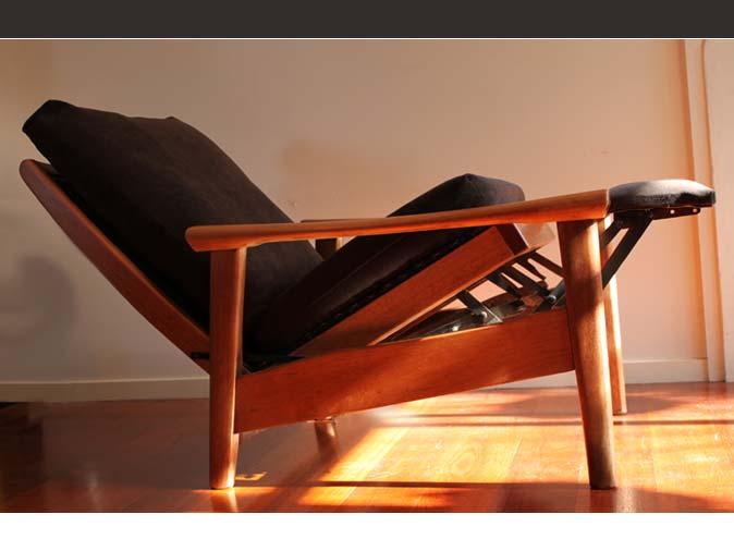 Retro Mobler Nettbutikk : Ringatoi retro dankse mobler recliners