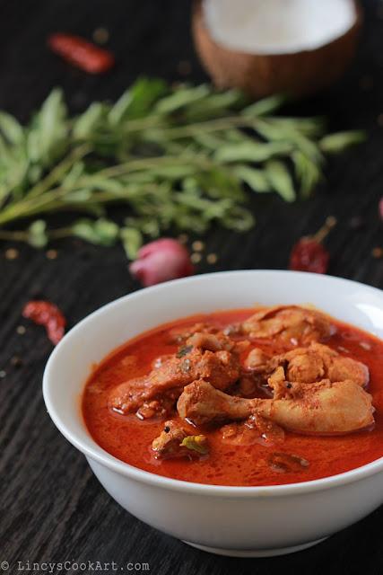 Varutha Chicken Curry