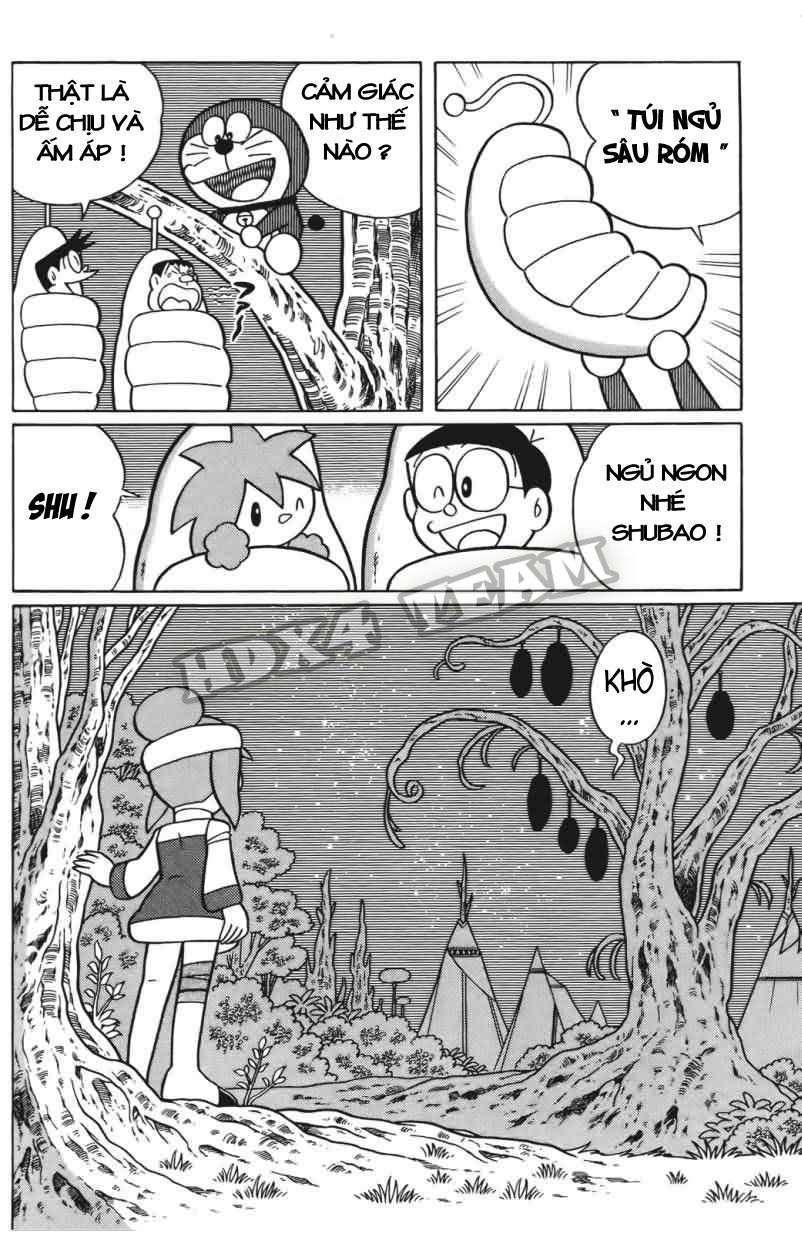Truyện tranh Doraemon Dài Tập 25 - Nobita và truyền thuyết thần rừng trang 160