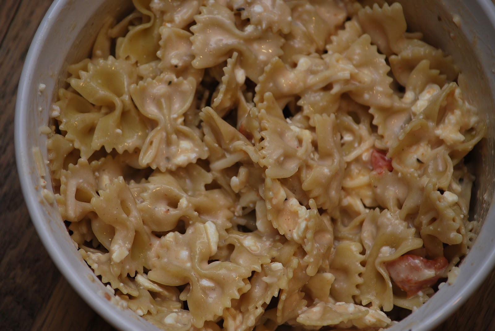 My story in recipes: Baked Bow Tie Pasta