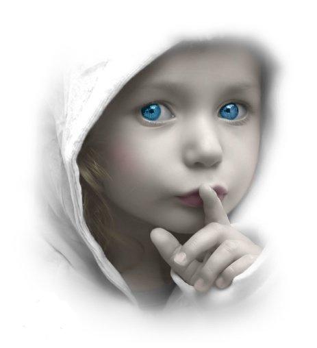 Je cherche ta musique dans PRIERE DE LOUANGE silence-baby-cute