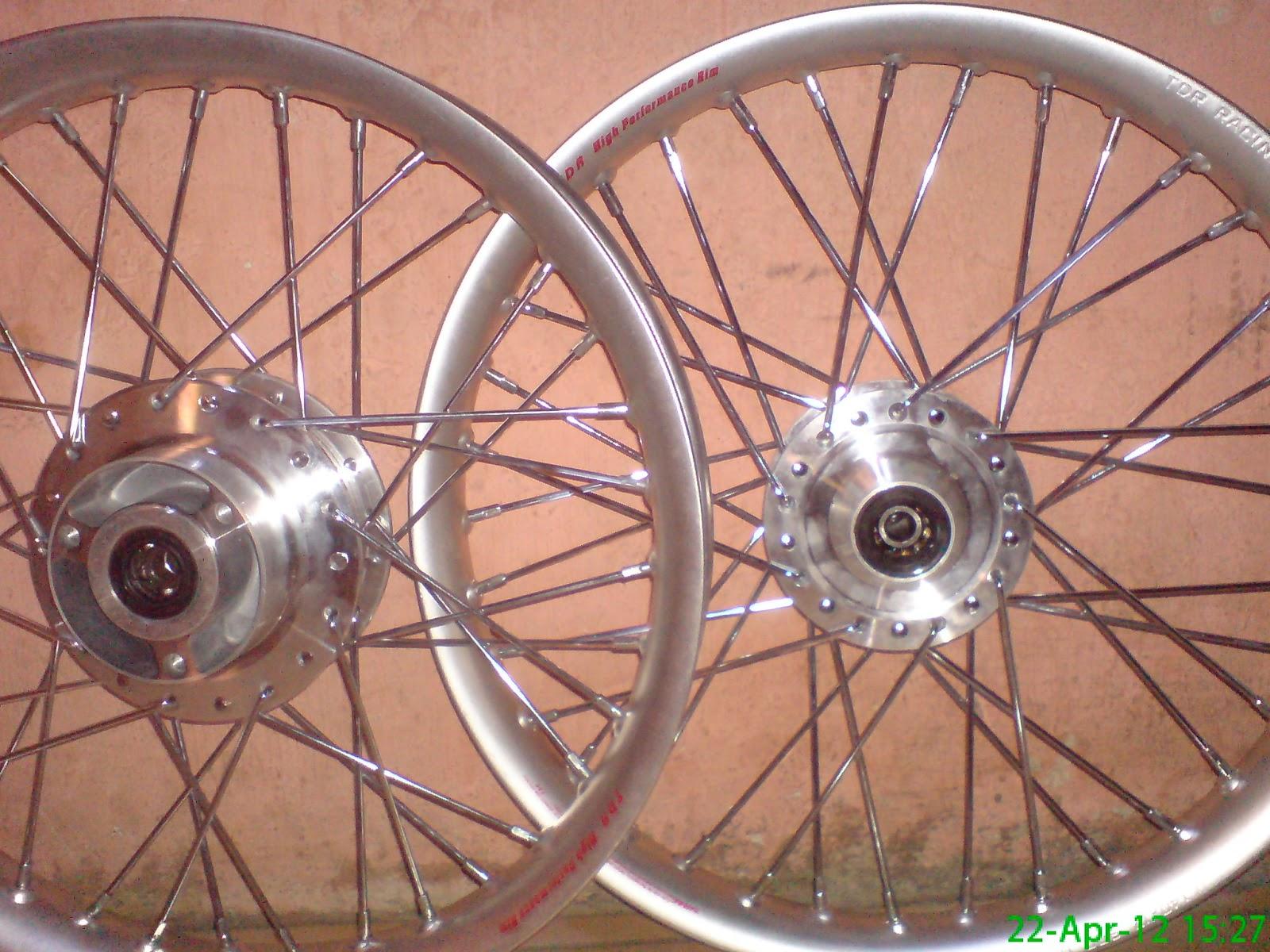 Velg TDR Silver Untuk Satria FU
