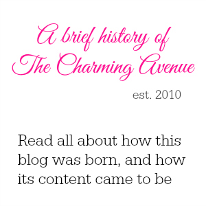 Read about the history of The Charming Avenue