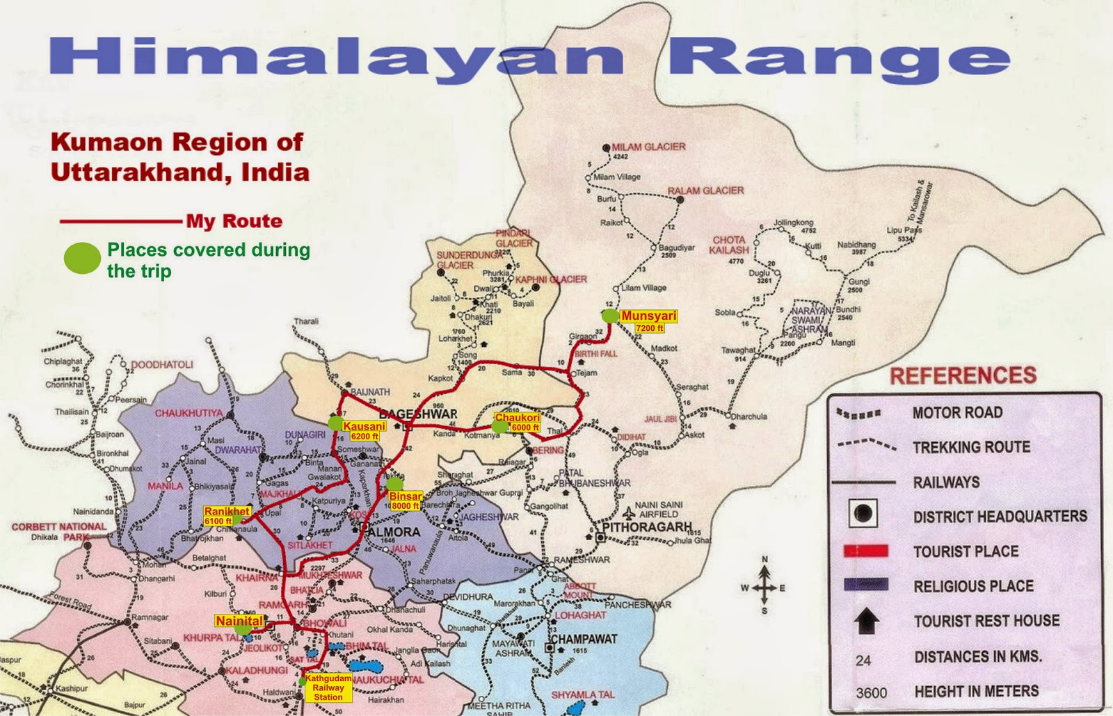 routes and maps of Uttarakhand  In Uttarakhand there are two regionsUttarakhand Map 2012