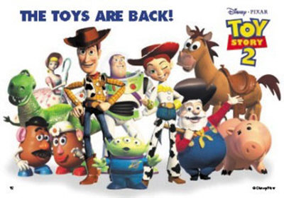 Toy Story 2 poster Toy Story 2 animatedfilmreviews.filminspector.com