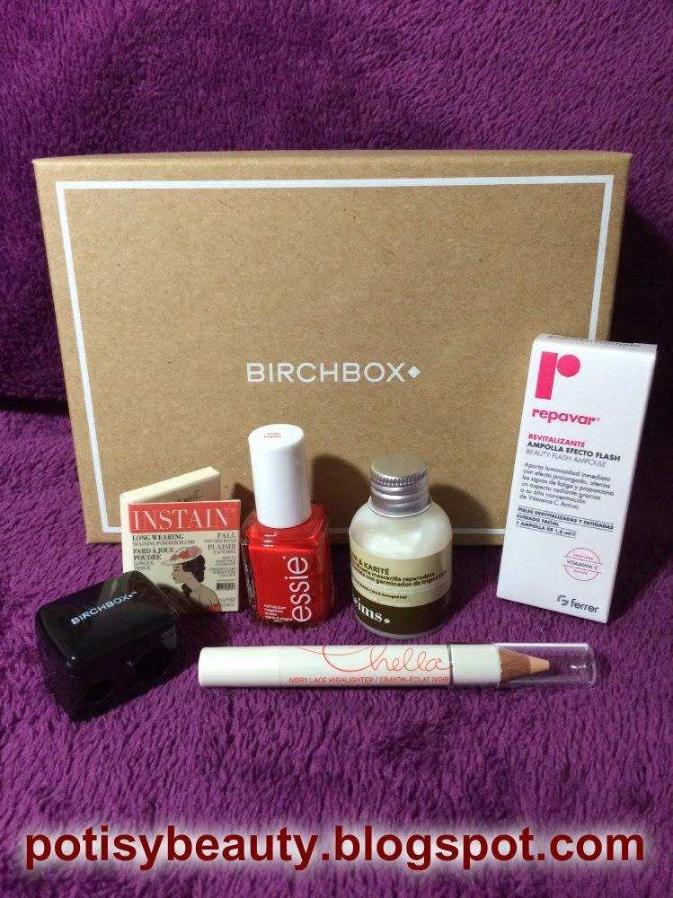 Birchbox noviembre 2013
