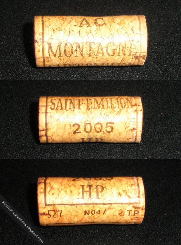 Wine cork: AC Montagne, Saint-Emilion 2005
