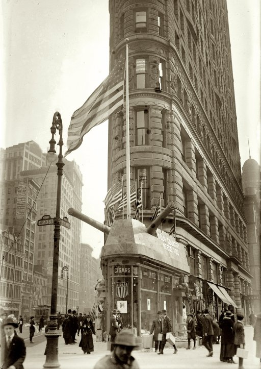 Flatiron building vintage everyday for Model house nyc