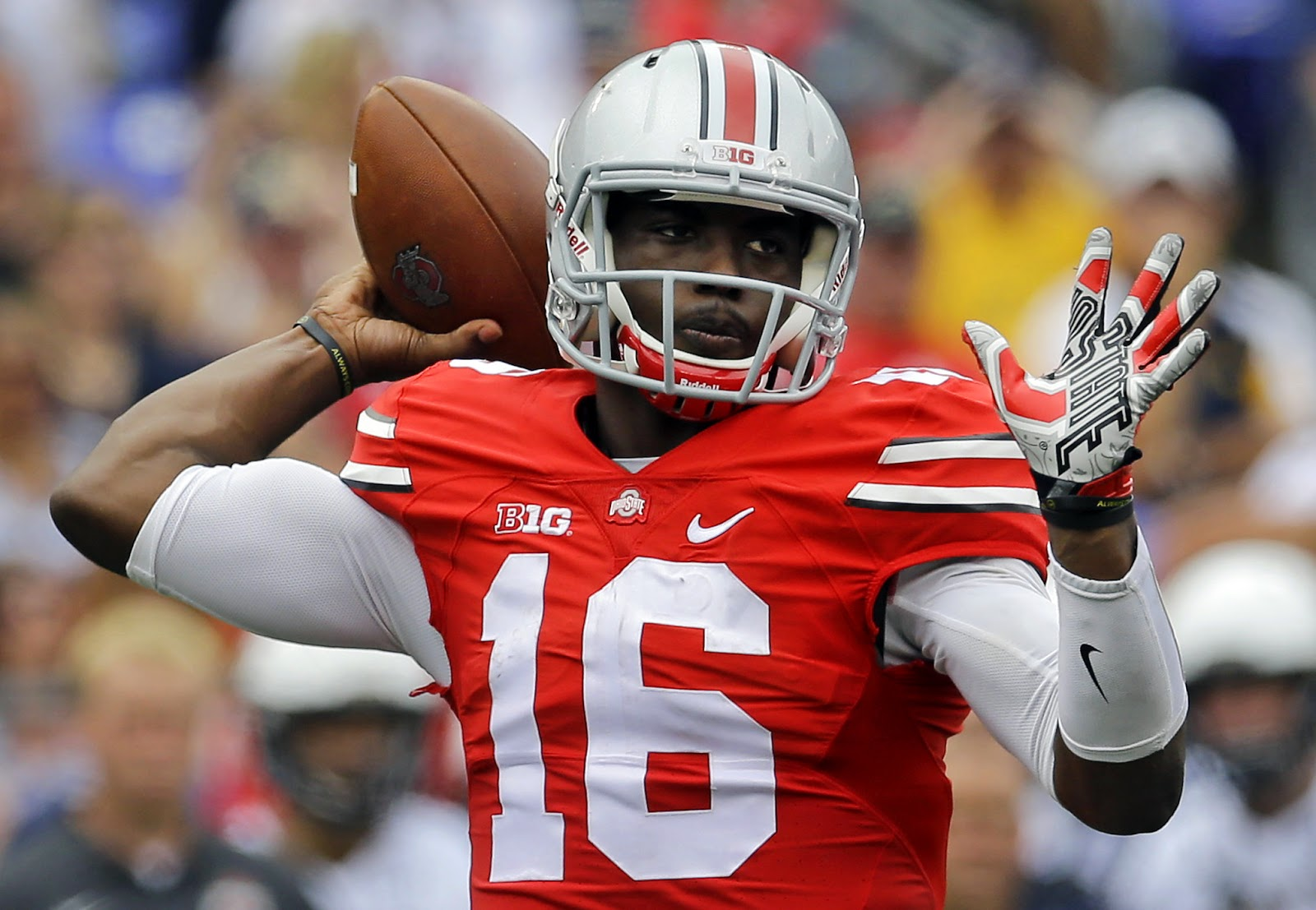 Frank Beamer says Ohio State has SEC Speed, compares J.T. Barrett to Braxton Miller.