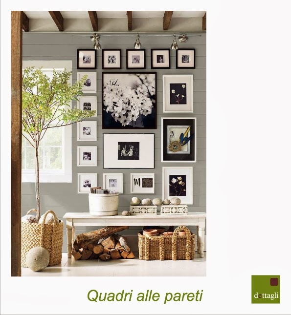 Quadri alle pareti blog di arredamento e interni dettagli home decor - Quadri per arredare casa ...