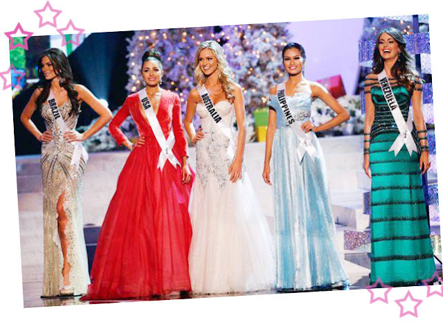 Miss Universo 2012 finalistas
