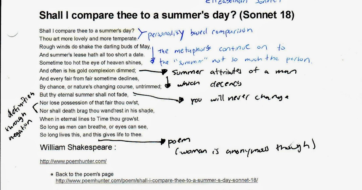 shall i compare thee sonnet 18  Shall i compare thee to a summer's day from the world wisdom online library: wwwworldwisdomcom/public/library/defaultaspx  sonnet 18  thou.