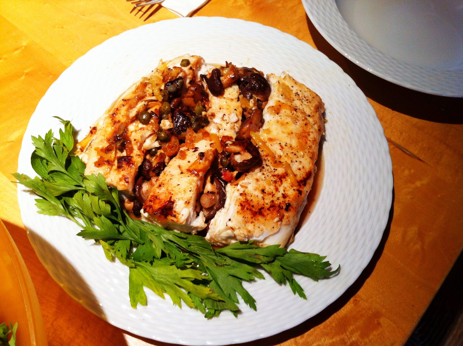 Good Looking Home Cooking: Seared Halibut with Shiitake ...