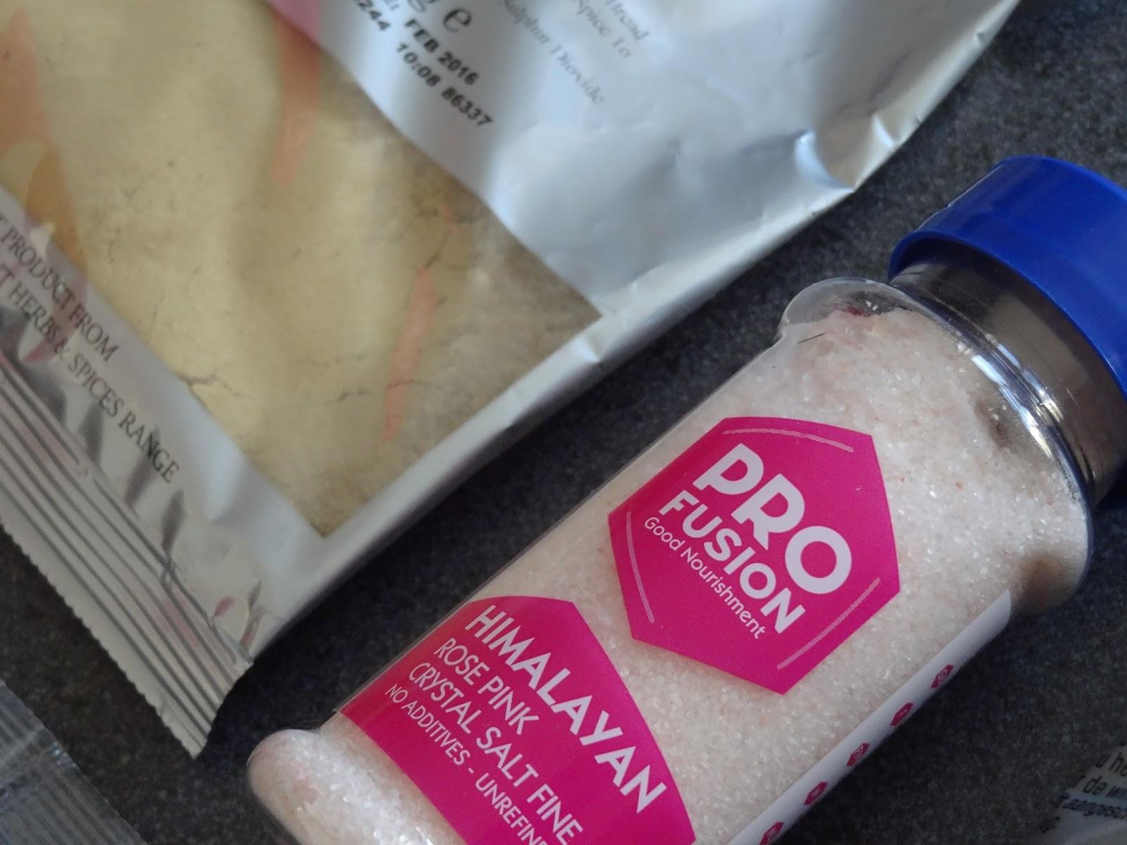 Holland and Barrett Himalayan Pink Salt Spices
