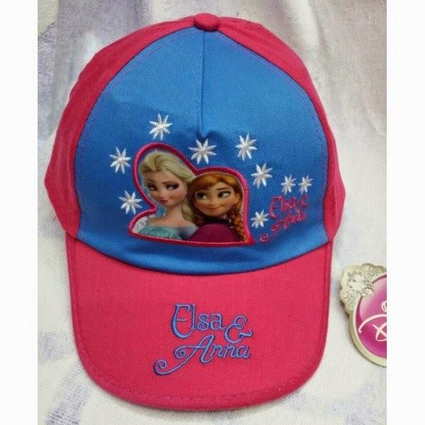 Topi elsa dan anna frozen untuk anak