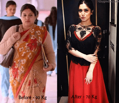 Bhumi Pednekar Before and After Pics