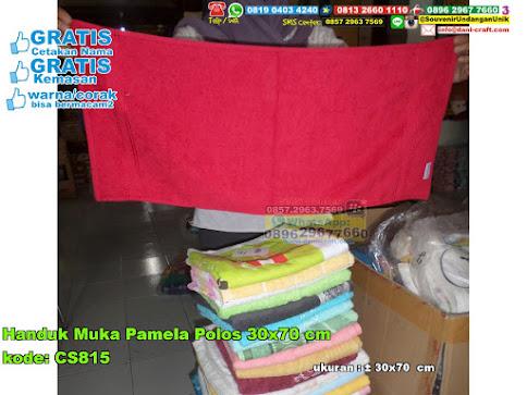 Handuk Muka Pamela Polos 30×70 Cm