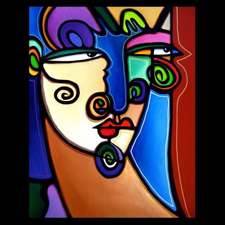 Im genes arte pinturas arte abstracto pinturas for Imagenes de cuadros abstractos geometricos