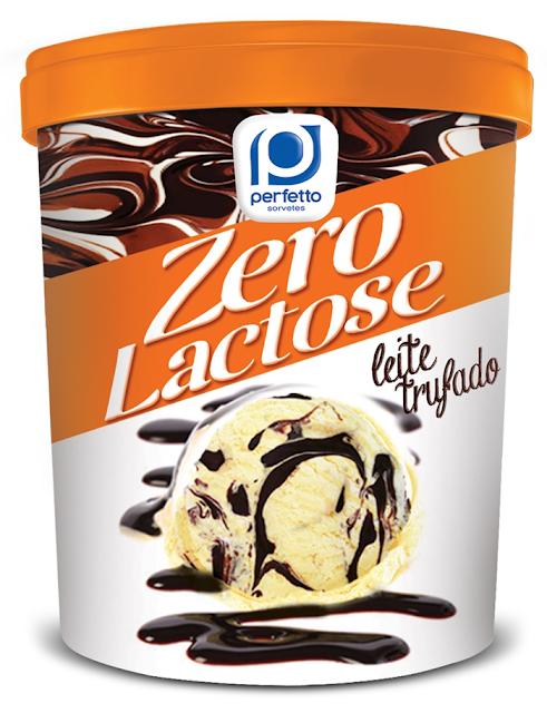 Sorvete Zero Lactose PERFETTO
