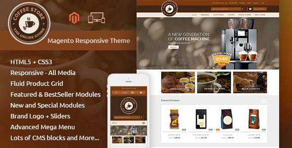 Coffee Shop Responsive Theme