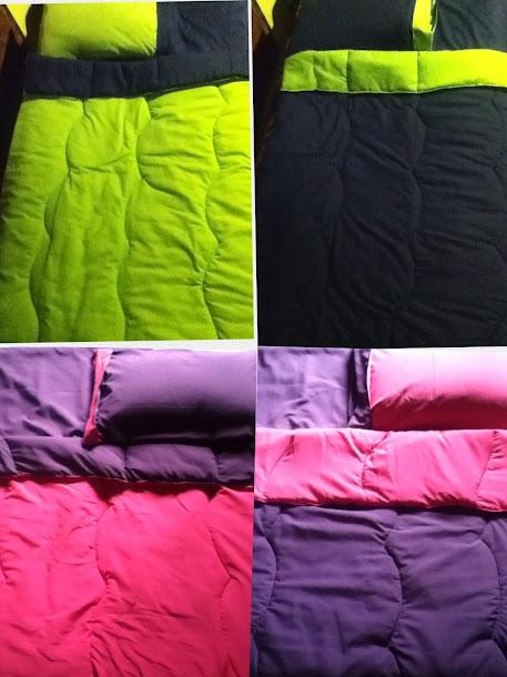 Acolchados doble faz eleccion de colores para practicuna-Cuna y todas las plazas CONSULTE -