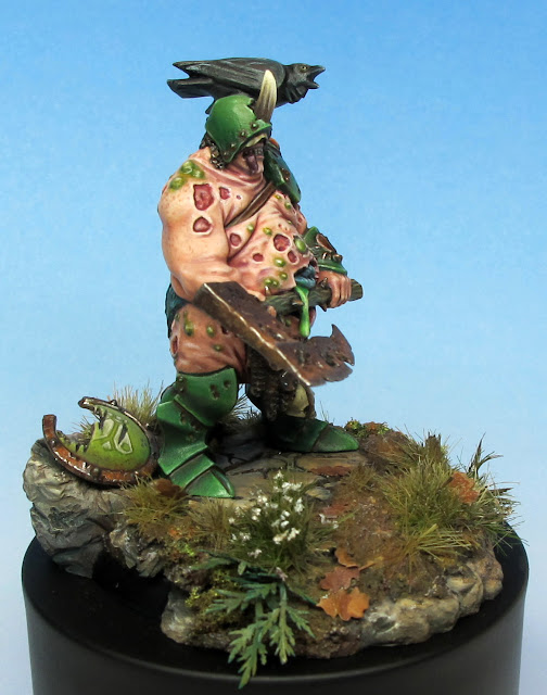 Nurgle Lord Conversion Painted 2