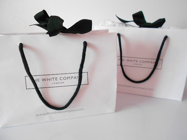 The White Company, St Davids Cardiff, shopping bag