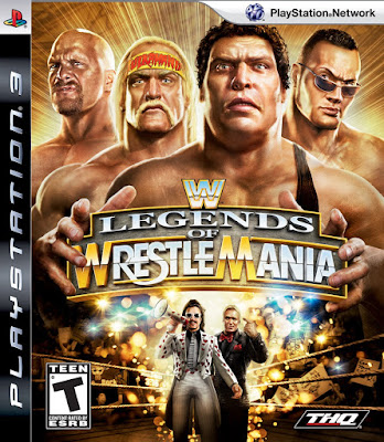 WWE Legends Of Wrestle Mania Game PC