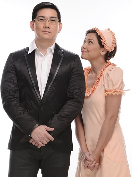 Jodi Sta. Maria and Richard Yap (Papa Chen) in 'Be Careful With My Heart'