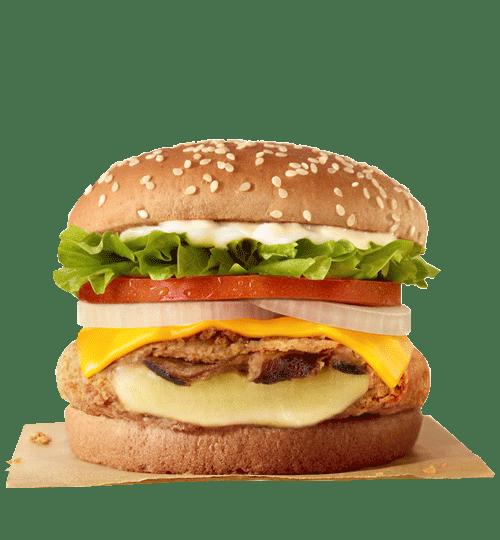 Burger King Veggie Burger Onion Rings