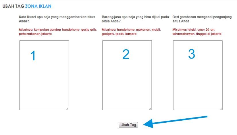 Cara Pasang Iklan PPC Indonesia di Blog Website