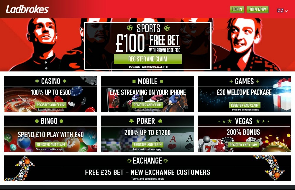 Ladbrokes Screen