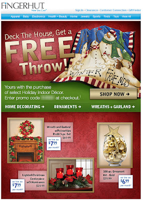 Click to view this Oct. 6, 2011 Fingerhut email full-sized