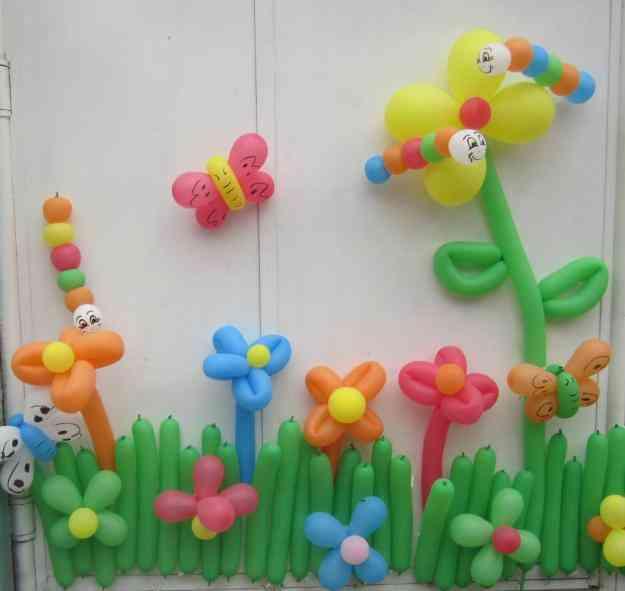 Manualidades e ideas para tus fiestas infantiles for Globos decoracion fiestas