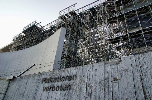 Baustelle Erweiterung Marie-Elisabeth-Lüders-Haus, Luisenstraße, 10117 Berlin, 09.07.2013