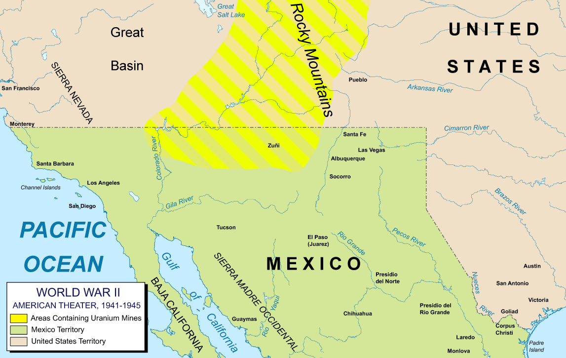 in this alternate history the mexican america war is less of a curb stomp and along with poor negotiators on the american side mexico manages to hold onto