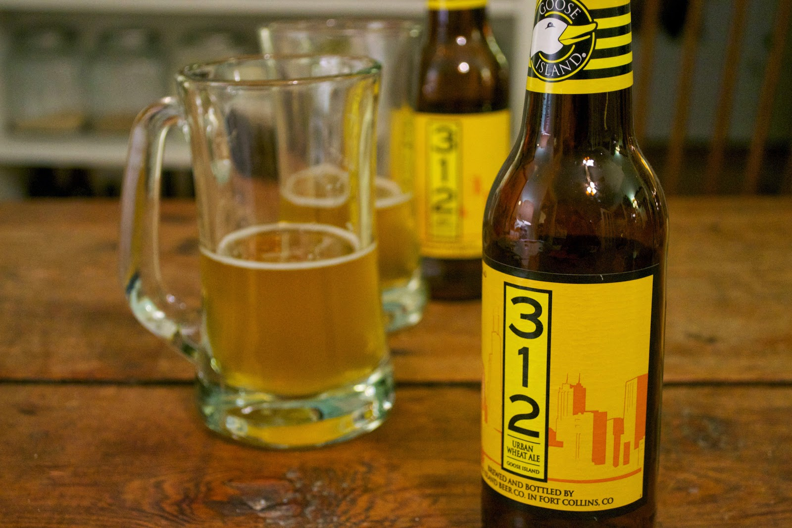 beer to pick up this weekend: 312 urban wheat ale by goose island